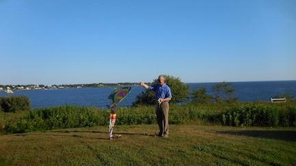 Jon with kite
